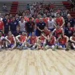 La Roja del Volleyball derrota a República Dominicana en el cierre de su preparación al Preolímpico