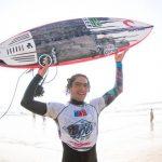 Guillermo Satt y Lorena Fica ganaron la primera fecha del Circuito Nacional de Surf 2020