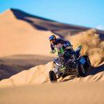 Ignacio Casale se quedó con el primer lugar de los quads en el inicio del Dakar