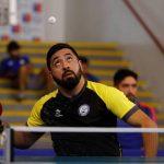 Luis Flores ganó medalla de oro en el Para Open Chile de Tenis de Mesa