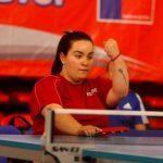 Tamara Leonelli ganó medalla de plata en el Chile Para Open de Tenis de Mesa