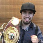 """""""Pancora"""" Velásquez abrirá la temporada 2020 del boxeo chileno"""