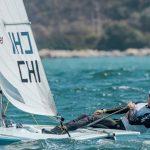 Clemente Seguel se mantiene como líder del Selectivo Nacional Olímpico de Laser Standard