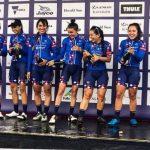 Agolico BMC Pro Cycling Team de Denisse Ahumada se tituló campeón por equipos del Herald Sun Tour