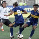 Colo Colo cayó ante Boca Juniors en la primera Noche Alba Femenina