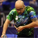 Cristian Dettoni ganó medalla de bronce por equipos en el cierre del Polonia Para Open de Tenis de Mesa