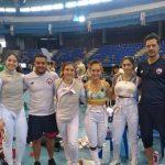 Chile se quedó con el segundo lugar del Panamericano Juvenil de Esgrima