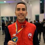 Ignacio Morales ganó medalla de plata en la President's Cup Europe de Taekwondo
