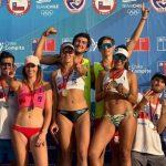 Duplas Vorpahl/Rivas e Iglesias/Aravena ganaron la sexta fecha del Circuito Nacional de Volleyball Playa