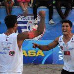 Los primos Grimalt ganaron la primera fecha del Circuito Sudamericano de Volleyball Playa 2020