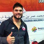 Rodrigo Rojas disputará la medalla de bronce en el Karate 1 Premier League de Dubai