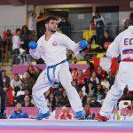 Rodrigo Rojas finalizó en el quinto lugar de la Karate 1 Premier League de Dubai