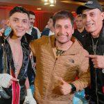 Junior Cruzat derrotó a Mauro Barrios y mantiene su invicto en el boxeo profesional