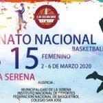 Este martes comienza el Nacional Sub 15 de Básquetbol Femenino en La Serena