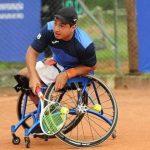 Alexander Cataldo debutó con un triunfo en el Georgia Open de Tenis en Silla de Ruedas
