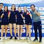 Chile ganó medalla de oro por equipos en el Sudamericano Juvenil de Tenis de Mesa