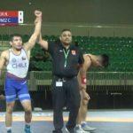 Cristóbal Torres logró el quinto lugar en el Panamericano de Lucha Olímpica