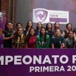 Este viernes se realizó el lanzamiento oficial del Campeonato Femenino de Primera División