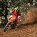 Matteo de Gavardo fue séptimo en su debut por el Campeonato de España de Moto Enduro