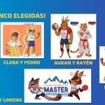 Comenzó la etapa final para elegir a la mascota de los Juegos Sudamericanos Máster Santiago 2021