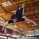 Un gimnasta mundial