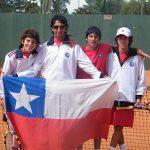 Campeones en tenis sub-14