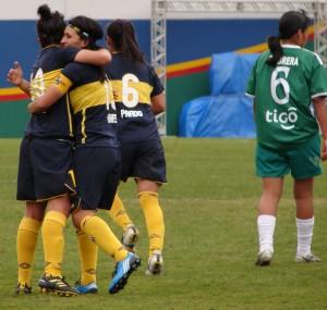 Everton en la final de la Copa Libertadores Femenina