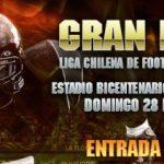 Final Liga Chilena Football Americano