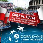 Copa Davis: Chile v/s Italia