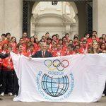 Se busca un logo para Odesur Santiago 2014