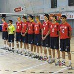 Selección Menor Masculina de Volleyball logra importantes triunfos en Bélgica
