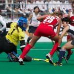 """Las """"Diablas"""" empatan con Japón en Preolímpico Hockey Césped"""