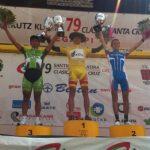 Ciclista Adrián Alvarado finalizó tercero en la Clásica Santa Cruz (España)
