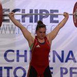 María Fernanda Valdés logra el segundo puesto en Preolímpico de Pesas