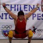 Las pesas masculinas chilenas logran un nuevo cupo olímpico para nuestro país