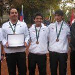 Equipo masculino clasificó al Mundial de Tenis Sub-14