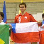 Esgrima chileno gana dos nuevas medallas de oro en Uruguay