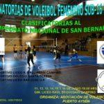 El volleyball femenino sub 16 se toma Puerto Aysén