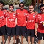 El Volley Playa chileno se despide de Londres 2012