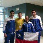 La gimnasia aeróbica chilena tuvo un buen paso por el Mundial de Bulgaria