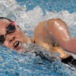 Kristel Köbrich logra segundo lugar en su serie de 400 metros libres pero no clasifica a la final