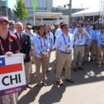 Delegación chilena fue recibida oficialmente en la Villa Olímpica de Londres