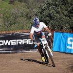 Cristóbal Silva ganó la primera fecha de la Copa Alpes de ciclismo de montaña