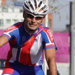 El ciclista nacional Gonzalo Garrido fue 72 en la prueba de Gran Fondo