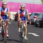 Gonzalo Garrido y Paola Muñoz cumplen intenso entrenamiento en Londres previo al debut