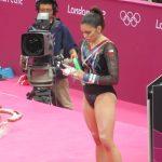 Simona Castro logró el cuarto lugar en la final de suelo en Portugal