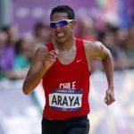 Yerko Araya termina en el puesto 41 de los 20 kilómetros de marcha