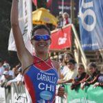 Triatleta Valentina Carvallo gana el Ironman 70.3 de Penha