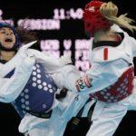 Yeny Contreras no logró pasar la primera ronda del taekwondo olímpico