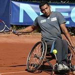 Grave problema con la silla de ruedas para tenis de Robinson Méndez